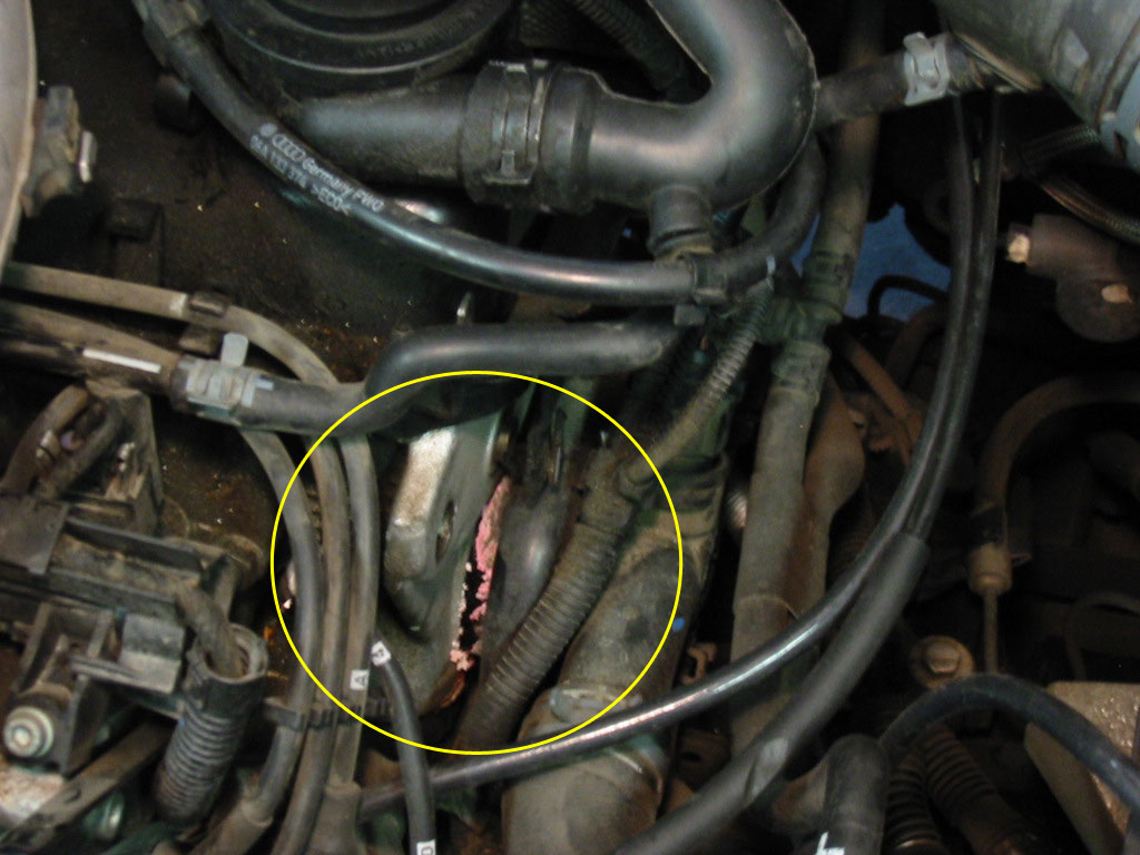 Thread Diy Replacing Driver Side Coolant Flange On A Mkiv Jetta 8v 2o: 2006  Vw