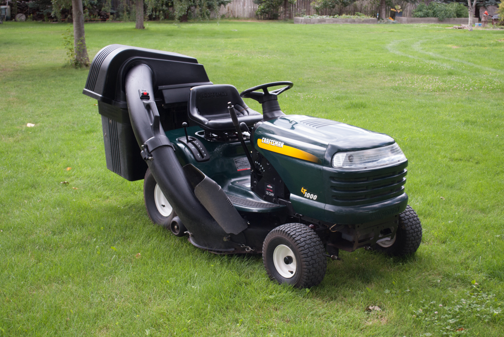Craftsman Lt1000 Mower Manual : Craftsman lt riding mower